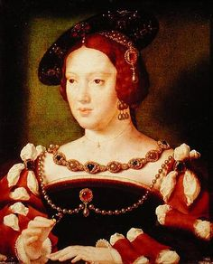 Eleanor, of Austria Juana's eldest daughter by lnor19, via Flickr. Infanta of Castile, Archduchess of Austria, Queen consort of Portugal, Queen consort of France. Eleanor was not of the House of Trastamara because she was born into her father's House of Habsburg.