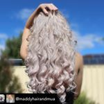 Instagram feed beverly may hair hair extensions australia im loving the mermaid hair curl achieved by maddyhairandmua using the beverly may curler repost from pmusecretfo Images