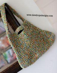 Simple Shoulder Bag - Free Crochet Pattern