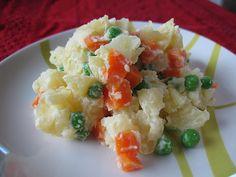 Ensalada Rusa: Argentines go crazy for this simple potato salad.