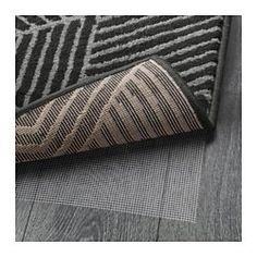 The dense, thick pile dampens sound and provides a soft surface to walk on. Durable, stain resistant and easy to care for since the rug is made of synthetic fibres.