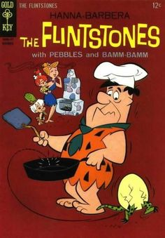 The Flintstones w/Pebbles and Bamm Bamm Animated Cartoon Characters, Classic Cartoon Characters, Cartoon Books, Favorite Cartoon Character, Classic Cartoons, Cool Cartoons, Children's Comics, Comics Story, Funny Comics