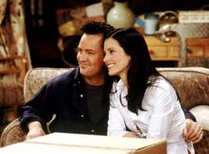 Ross and Rachel. Carrie and Big. Cory and Topanga. Whatever happened to television's most famous couples? Chandler Friends, Monica And Chandler, Chandler Bing, Ross Geller, Friends Moments, Friends Tv Show, Tv Couples, Famous Couples, Carrie And Big