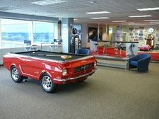 Best Car Furniture Pool Tables Images On Pinterest Pool Tables - Mustang pool table
