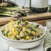 Quinoa Risotto with Asparagus Recipe
