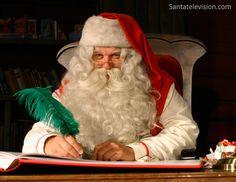 Papá Noel / Santa Claus en la Casa de Papa Noel en Laponia