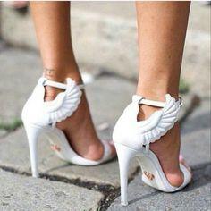 prada angel shoes