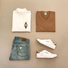 pulls for men inspiration grid style outfits mens outfit men's fashion style inspiration casual style Look Fashion, Fashion Outfits, Fashion Trends, Fashion Photo, Sneakers Fashion, Casual Outfits, Men Casual, Dress Casual, Casual Chic