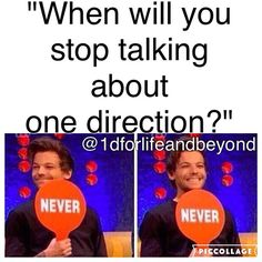 NEVER!!!!!!! People should really stop asking that question cause my answer is the same every time! :)