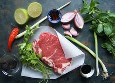 Wine Recipes, Asian Recipes, Tuna, Rosalie, Steak, Fish, Cooking, Munch Munch, Bistro