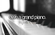 Bucket list- own a grand piano DONE ❤️