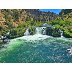 Great shot of #steelheadfalls from @brukphotography!    #visitcentraloregon #pnw #waterfalls #beauty #traveloregon
