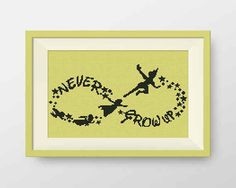 This whimsical Peter Pan silhouette.