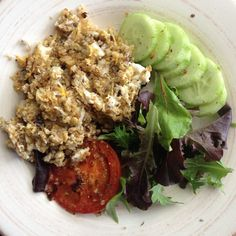 karenluvslife:  Quinoa and egg scramble with grilled tomato... The Coolest Online Shop for health living person like you is on HUGE SALES! Blender Jar Water Bottle and more! ONLY While Stock Last! Hurry up! http://ift.tt/1HVNtAg