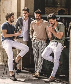 43 Fantastic Summer Fashion Clothes Ideas for Men - Street Style Mode Outfits, Casual Outfits, Fashion Outfits, Fashion Ideas, Fashion Clothes, Fashion 2018, Fashion Sale, Fashion Accessories, Summer Outfits