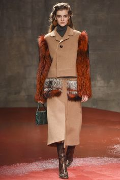 #Marni #FW2015_16 #trends #furry #extraLength #Catwalk #MFW #Milano