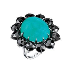 Style File: Holiday Gift Ideas and Inspiration   http://sbseasons.com/TmiC6 Watch her eyes go gaga over this Silverhorn Paraiba Cab and Black-Diamond Ring. #sbseasons #sb #santabarbara #SBSeasonsMagazine #SBStyle #GiftGuide #SBShopping To subscribe visit sbseasons.com/subscribe.html