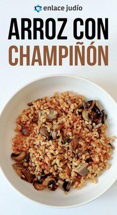 Empanadas, Risotto, Israel, Breakfast, Food, Jewish Recipes, Brown Rice, Eating Well, Legumes