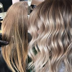 "2,373 Likes, 18 Comments - Mane Interest (@maneinterest) on Instagram: ""That blend ❤️❤️❤️ Color by @hellobalayage #hair #hairenvy #hairstyles #haircolor #bronde #balayage…"""