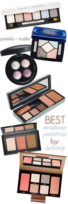 The Best Makeup Palettes for Spring