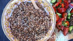 Cooked Buckwheat Recipe - Heghineh Cooking Show