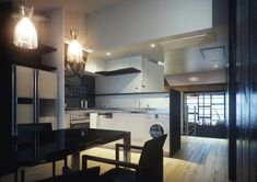The modern sheen of the new style kitchen also houses a state of the art American style fridge freezer along with a host of other mod cons. ...