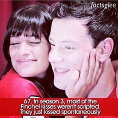 Finchel i love glee and every once in awhile while watching i get sad because i remember that they loved each other and he is no longer here :'( Glee Rachel And Finn, Lea And Cory, Finn Glee, Best Tv Shows, Best Shows Ever, Favorite Tv Shows, Glee Memes, Glee Quotes, Rachel Berry