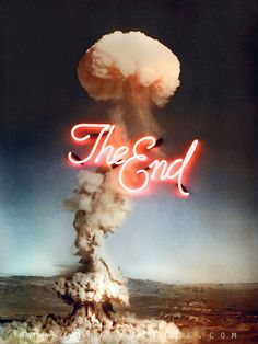 """""""The End"""" 2013, by Olivia Steele"""