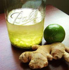 Ginger-lime gin
