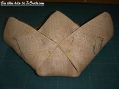 Mini-atelierTop-chrono: Vide-poches en origami Pochette Portable Couture, Quilts, Crochet, Blog, Point, Vanity, Molde, Debutante, Kitchen