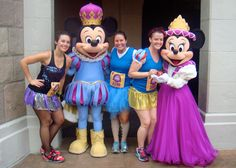 Tips for taking character pictures during a runDisney race. I think you should plan ahead whether you want to take pictures with characters, and if so which ones. Otherwise you might end up feeling stressed during the race when it should be fun!