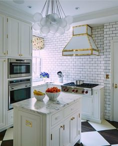 Celerie Kemble Small Kitchen with great style