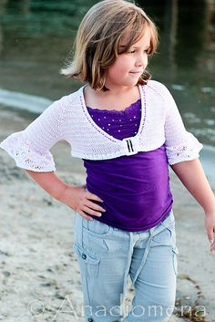 Ravelry: Queen Of The Waves pattern by Elena Nodel  #knitting #cardigan