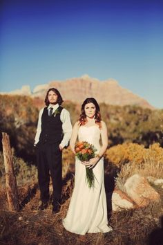 Southwestern Mountain Wedding Inspiration