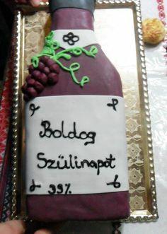 Borosüveg torta