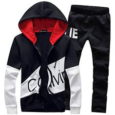 Best Seller Manluo Hoodies Sports Suits Print Slim Fit Young Track Suit  Outwear Jogging online 0f68dfa4ae64a