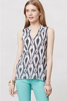 Shimmered Sterling Top from Anthropologie - $58.00