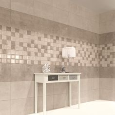 The Fama beige wall tiles are perfect for beige bathroom tiles or for stylish beige tiled kitchens. Alternatively create your own tile designs with the co-ordinating Fama beige mosaic tiles and Fama brown wall tiles.