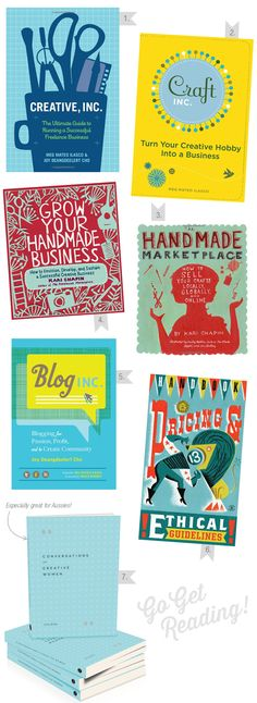 Start your creative business with these books!