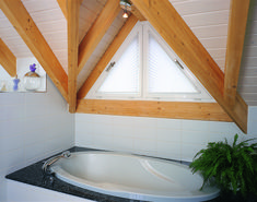 Plissee SilentGliss Alcove, Bathroom, Alcove Bathtub