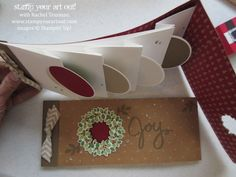 This album (shown below) was created by Jenni Pauli, a demonstrator from Germany