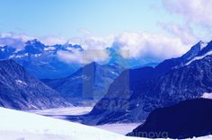 #Aletsch #Glacier and #Swiss #Alps seen from #Jungfraujoch (Top of Europe, #Switzerland). #stock #photos