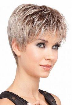 """Résultat de recherche d'images pour """"jolies coupes courtes cheveux gris"""""""