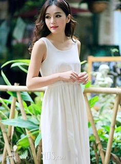 5cbdc5a3c04 US 14.99 Saleable New Summer Asymmetrical Sleeveless Maxi Dress .  Dresses   New  Maxi