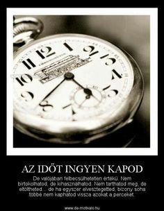 Az időt...