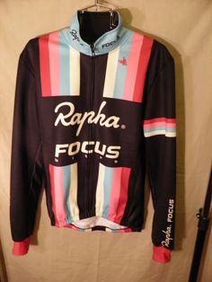 480015cfe7 RAPHA FOCUS Cycling JACKET Long Sleeve THERMAL CYCLING JACKET Mens Large   Rapha
