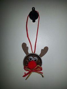 Nespresso-Rudolph Xmas Ideas, Nespresso, Christmas Ornaments, Holiday Decor, Home Decor, School, Creative, Decoration Home, Room Decor