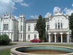 Gothic Revival Architecture .. The palace of Countess Teréz Brunszvik de Korompa in Martonvásár