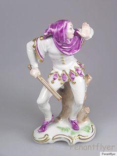 Rosenthal Figur Pierrot Harlekin Clown Hofnarr Figurine Figure 1949 Förster | eBay