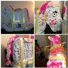 Rocking Horse diaper cake